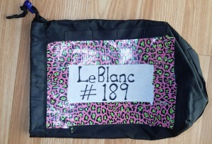 Lucky number 189, baby. Drop bags or incredible fashion accessory?