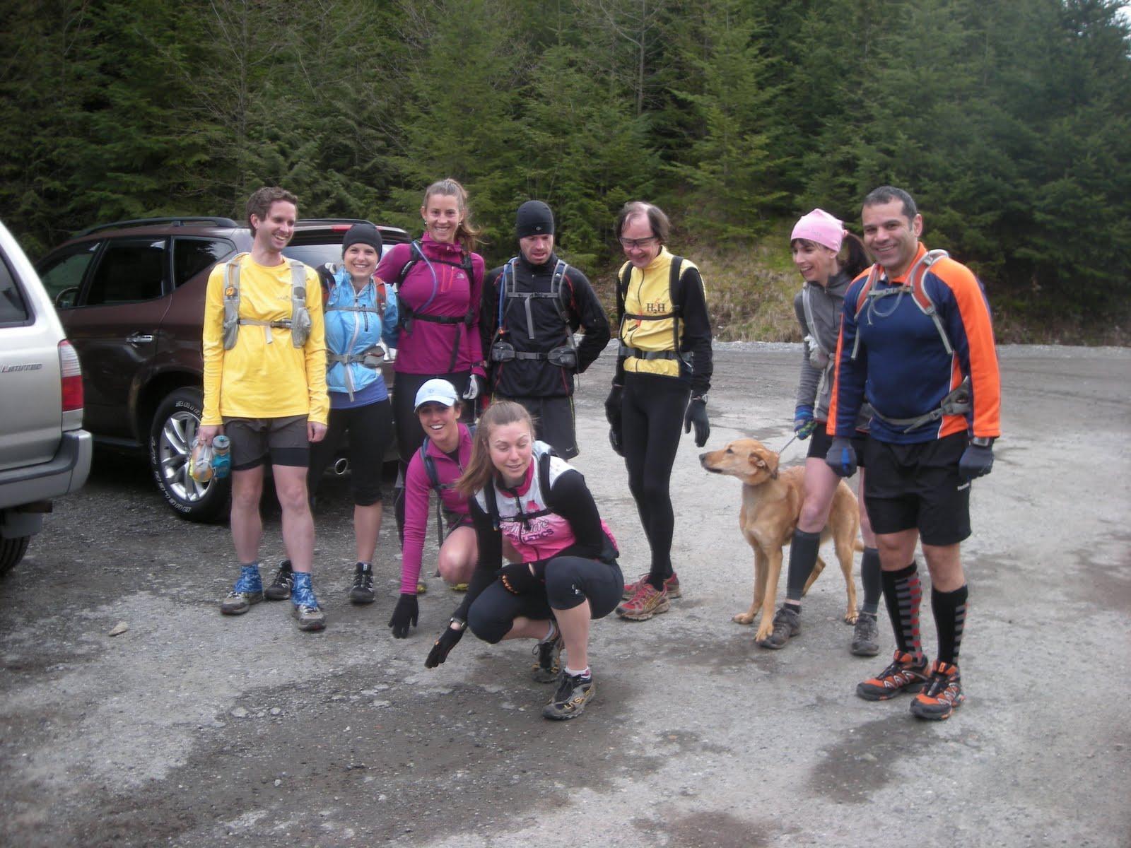 Some of the Training Run runners